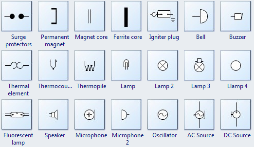 Electrical design software extended electrical symbols ccuart Image collections