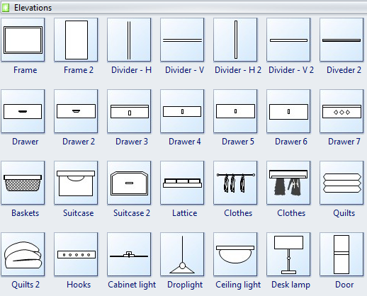 Cabinet Design Software Edraw All In One Diagram