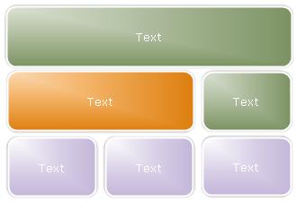 List-style graphique hiérarchique