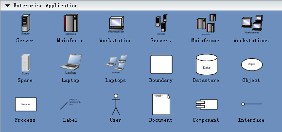 Enterprise Application Symbols