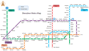 Subway Map Examples