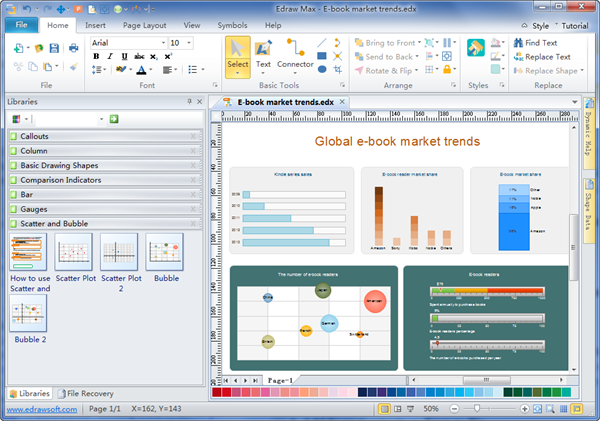 Business Report Diagrams Software  Free Business Diagram Templates Download
