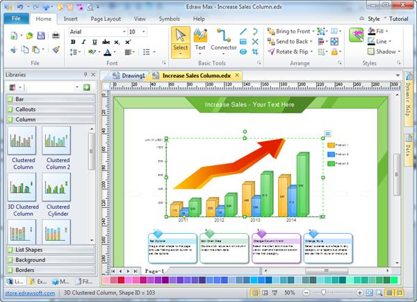 Column Chart Software