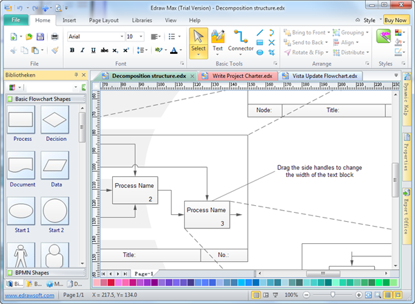 Easy flow chart software Easy flowchart software