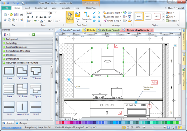 Is The Best Software To Draw Kitchen Elevation Layout Try It Free