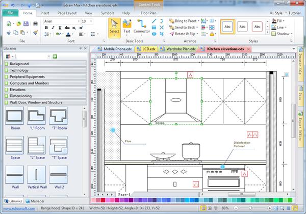 Kitchen Elevation Software