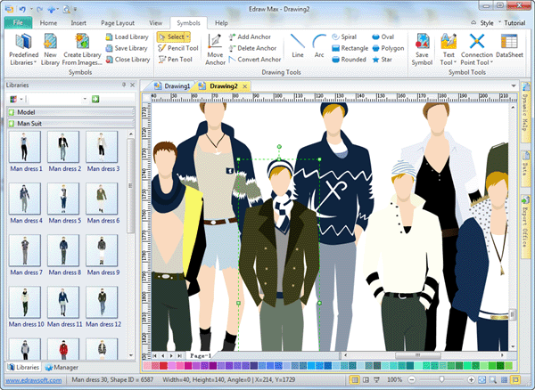 Clothes Design Software Men Clothing Design Software