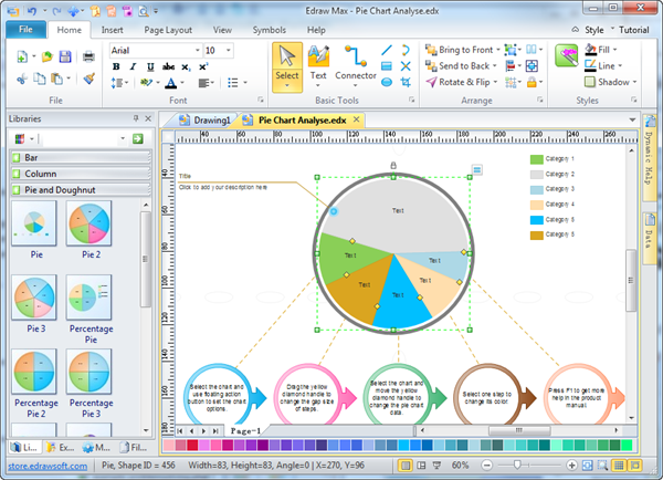 Chart software pie chart software ccuart Image collections