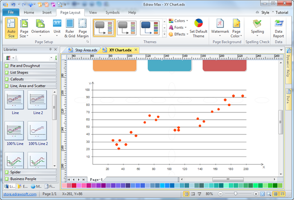 Scatter Graph Charting Software