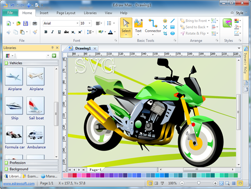 SVG Software, Create SVG, Drawing Couldn't Be Easier