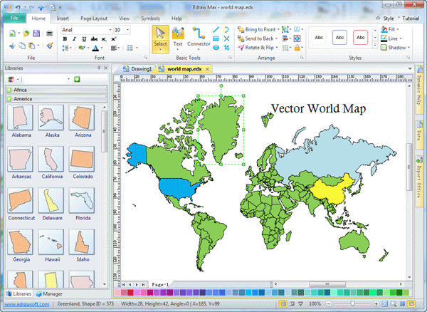 Free vector world map editable gumiabroncs Images