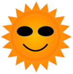 Clipart de Sol