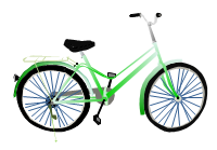 svg example - bicycle