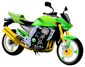 SVG Motorcycle