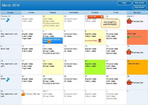 Make Own Calendar