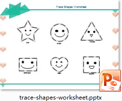Treacing Shapes Worksheet