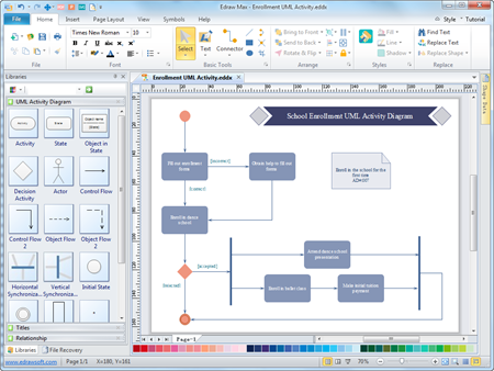 best uml diagram visio alternative with richer templates and affordable - Visio Like Program For Mac