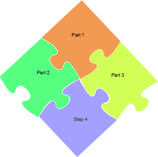 Unique Puzzle Diagram