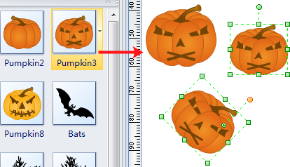Use Halloween Symbols
