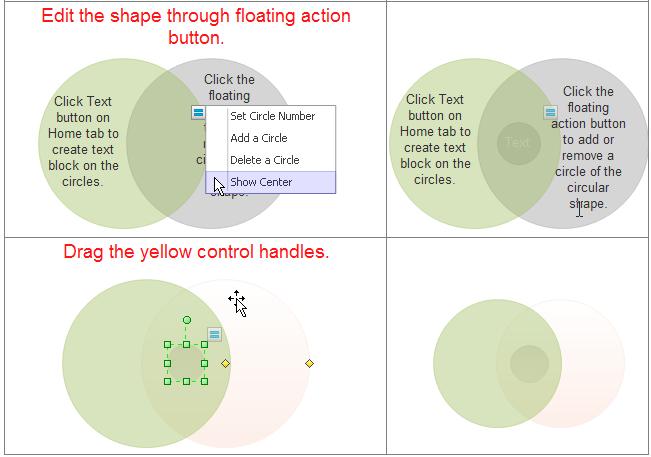 Edit Venn Diagram Symbols