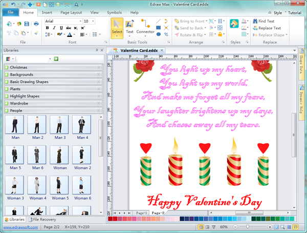 Valentine Card Software