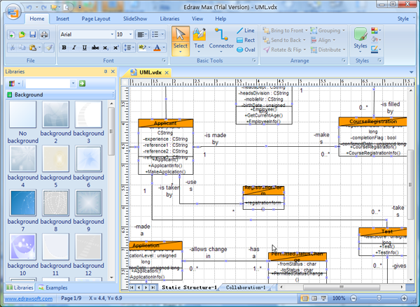 Visio UML Diagram