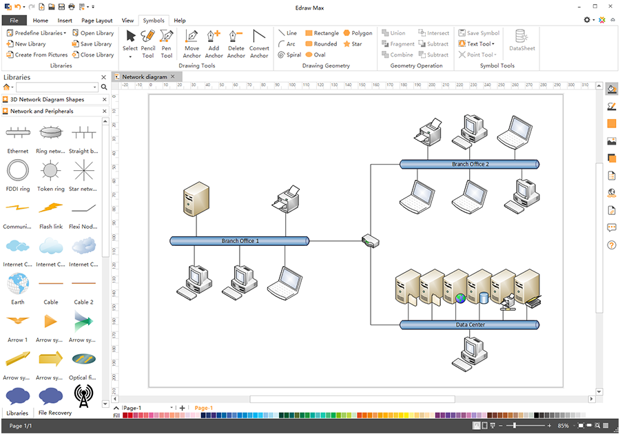Import Visio Network Diagram