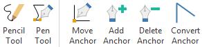 Toolkit zum Zeichnen von Symbolen