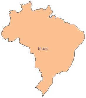 Geo Map South America