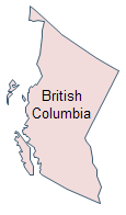 Geo Map - British Columbia