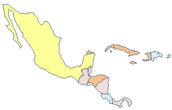 Geo Map - Central America