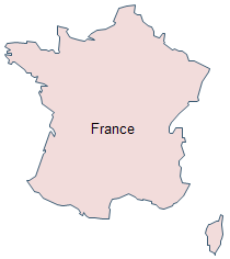 Geo Map - France