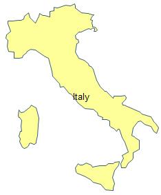 Geo Map - Italy