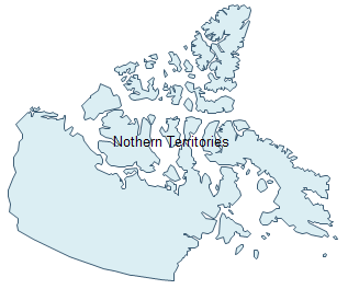 Geo Map - Northern Territories
