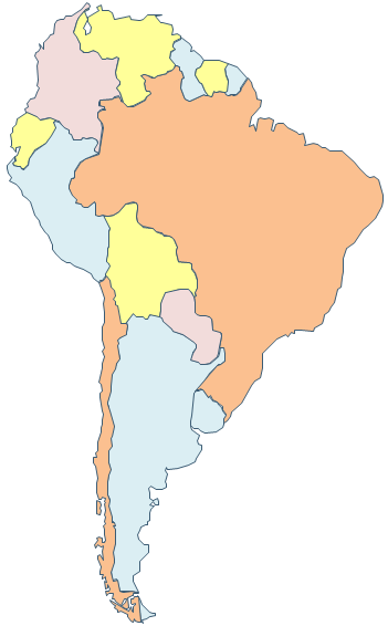 south america map clipart - photo #10