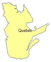 Geo Map - Quebec