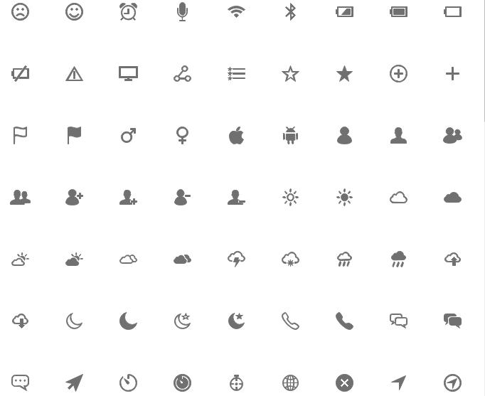 General Wireframe Symbols