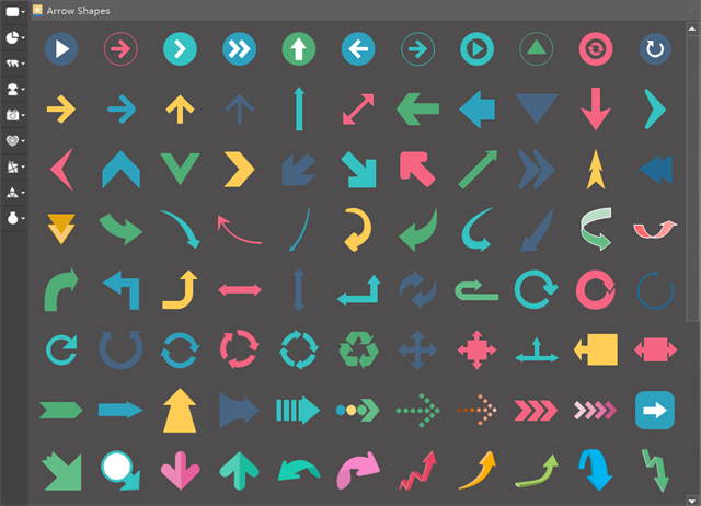 Infographic Arrow Elements