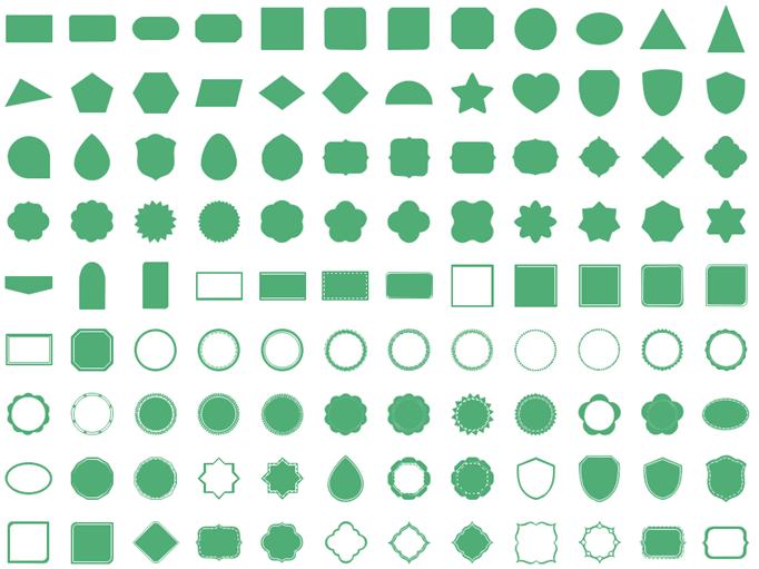 infographics basic text elements