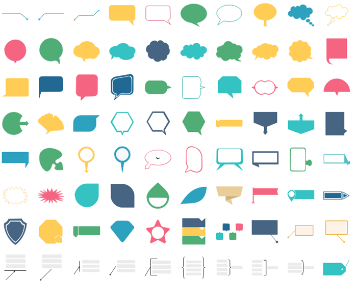 Infographic icons free