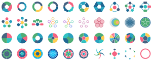 Elementos de Gráficas Circulares