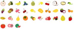 Elementos de Frutas