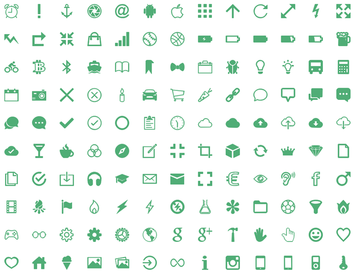 500 vector infographic icons free download