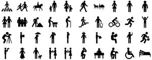 Elementos de Pictogramas de Personas