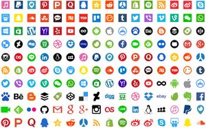 Íconos de Redes Sociales