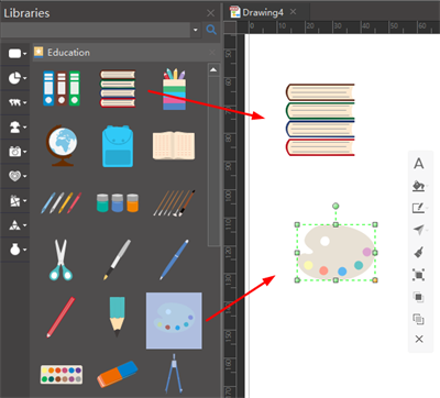 Add Elements for Education Infographics