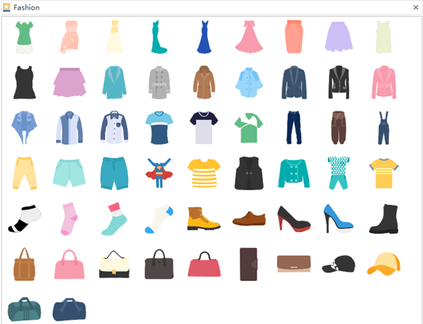 Clothes Infographic Elements