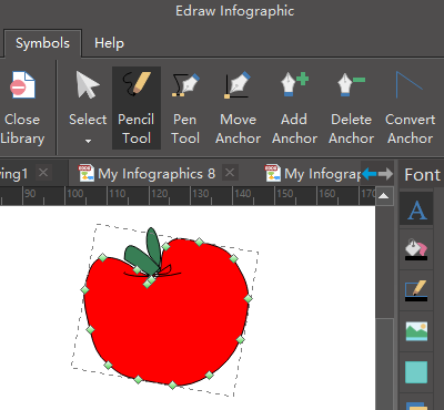 design new fruit elements