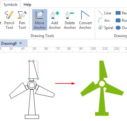 draw custom environment symbols