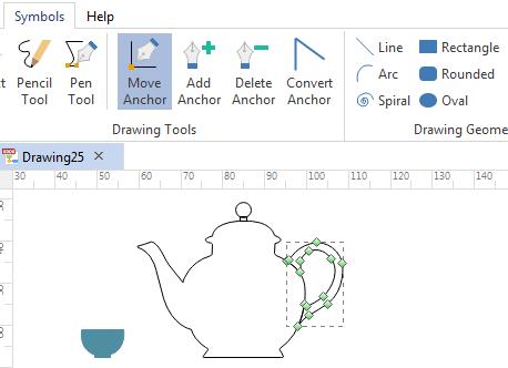 draw custom symbols